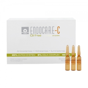 ENDOCARE 1 SECOND C OILFREE 2 ML 30 AMPOLLAS