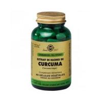 SPF CURCUMA (TURMERIC) 60 CAPS SOLGAR