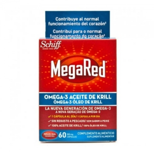MEGARED 500 OMEGA 3 ACEITE DE KRILL