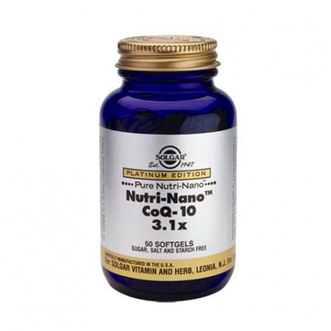 NUTRI-NANO Q10 3X1X 50 CAPSULAS SOLGAR