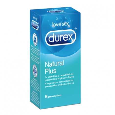 DUREX NATURAL PLUS 6U