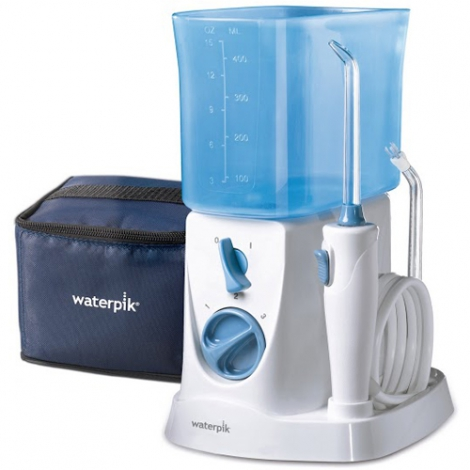 IRRIGADOR BUCAL ELECTRICO WATERPIK WP- 300 TRAVE VIAJES CON ADAPTADOR