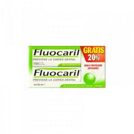 FLUOCARIL BI-FLUORE 250 DUPLO 125 ML 2 UNIDADES