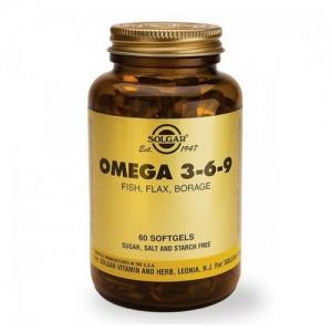 OMEGA 3/6/9 60 CAPS SOLGAR