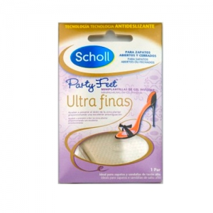 DR SCHOLL PLANTILLAS MINI DE GEL PARTY FEET ULTRAFI