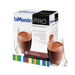 BIMANAN PRO BATIDO CHOCOLATE DIETA HIPERPROTEICA