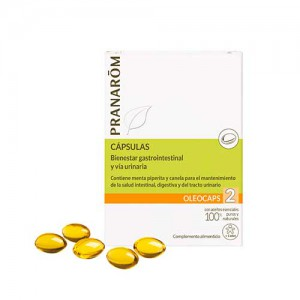 PRANAROM OLEOCAPS 2  GASTROINTESTINAL Y URINARIO 30 CAPS