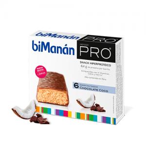 BIMANAN PRO BARRITA CHOCOLATE Y COCO DIETA HIPER