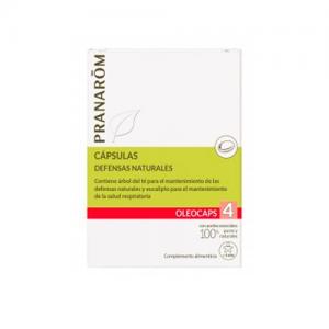 Pranarom Oleocaps 4 Defensas Naturales 30 Caps