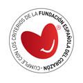 Cumple con los criterios de la fundación española del corazón